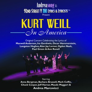 Album art for Kurt Weill in America