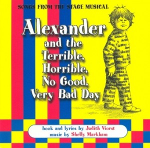 Album art for Alexander And The Terrible, Horrible, No Good, Very Bad Day