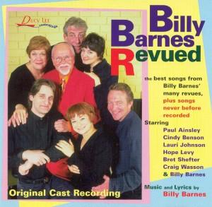 Album art for Billy Barnes Revued